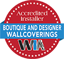 WIA Accredited Installer Boutique and Designer Wallcoverings