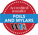 WIA Accredited Installer Foils and Mylars