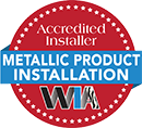 WIA Accredited Installer Metallic Product Installation