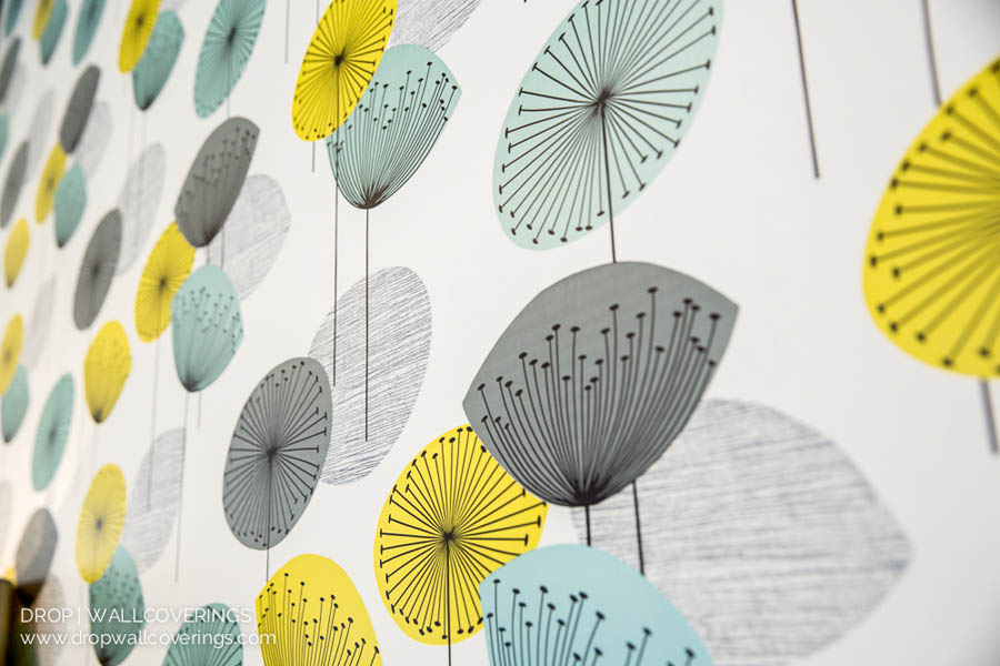 Dandelion Clocks Wallpaper By Calgary Wallpaper Installer