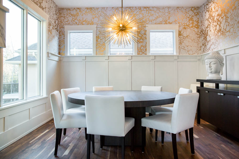 Calico wabi cloud by calgary wallpaper installer drop for Best private dining rooms calgary
