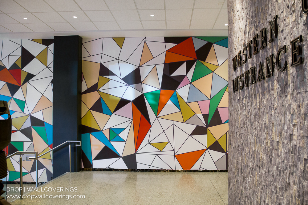 Commercial Wall Mural By Calgary Wallpaper Installer