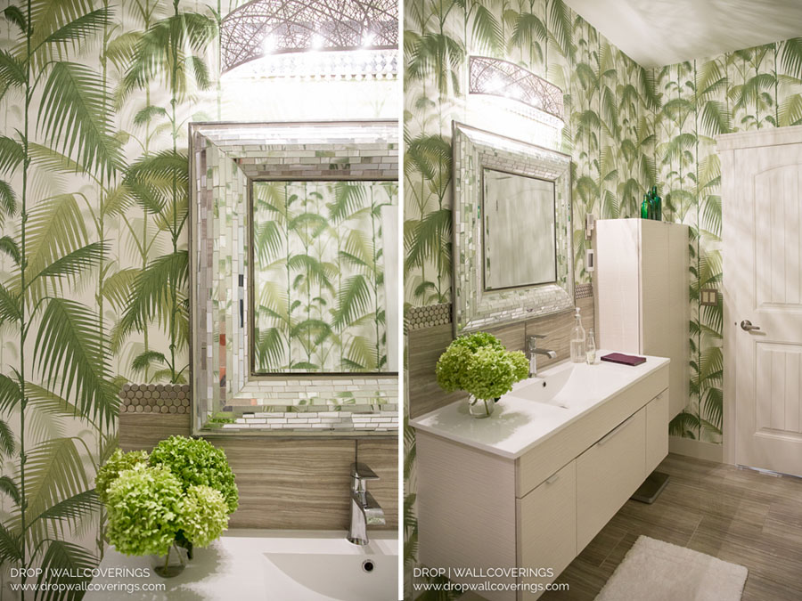 Cole & Son Palm Jungle 95/1001 by Drop Wallcoverings